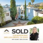 SOLD! 528 Mason Way, San Luis Obispo - Amy Daane