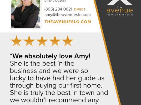 Amy Daane 5-Star Testimonial
