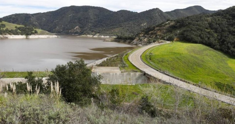 Lopez Lake more than half full for the first time since 2014