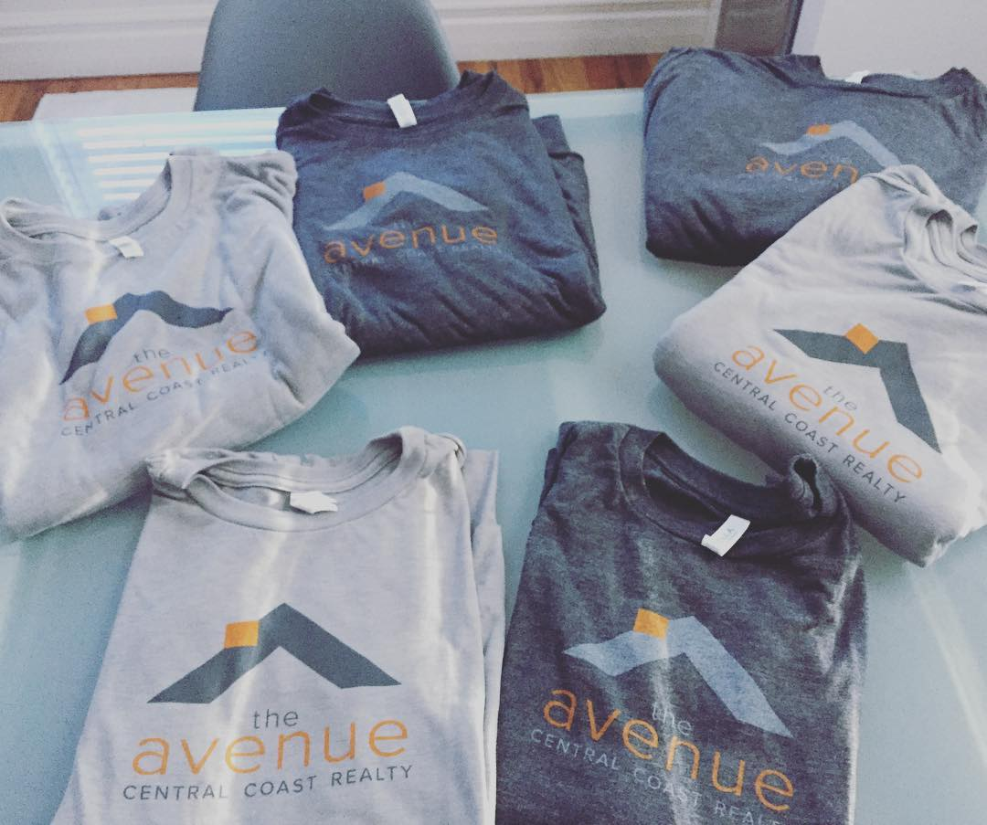 Avenue Central Coast Realty T-Shirts