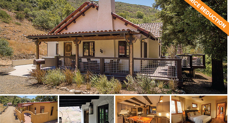 PRICE REDUCTION – Private Creekside Paradise in SLO