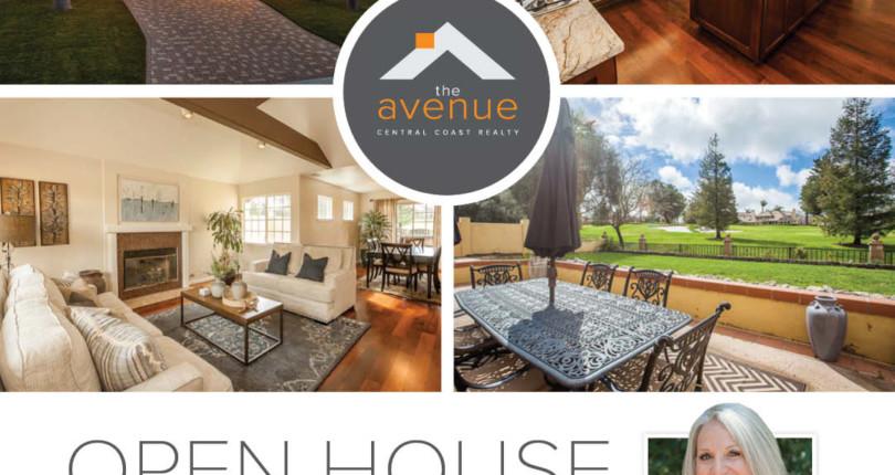 OPEN HOUSE – 5766 Pebble Beach, SLO 3/9/19
