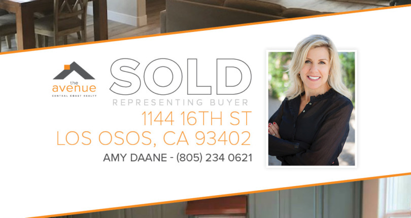 SOLD – 1144 16th St, Los Osos