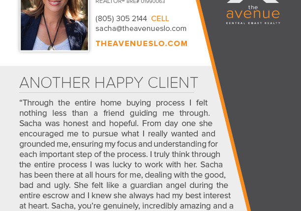 Another Happy Client for Sacha Steel