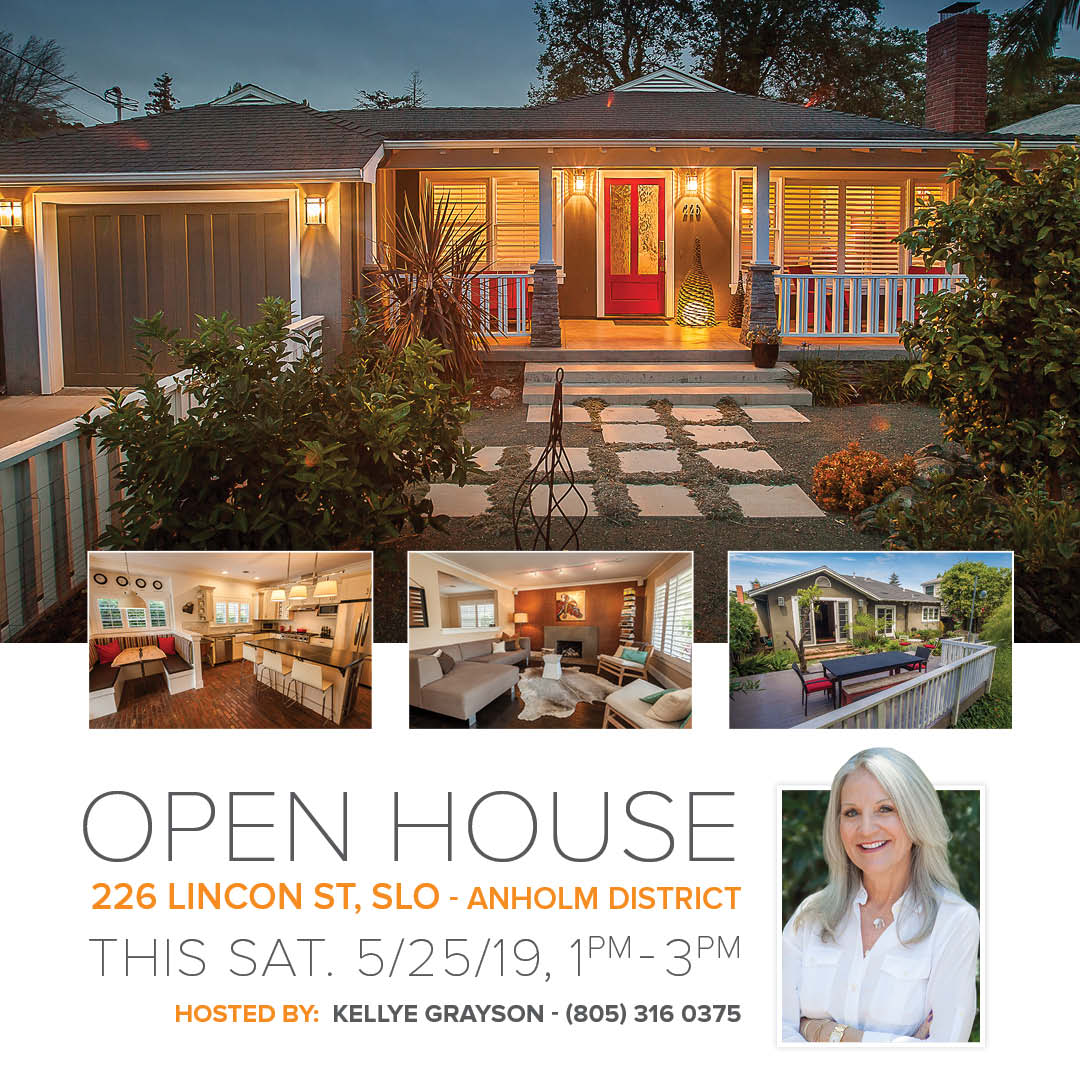OPEN HOUSE – 226 Lincoln St in Anholm District-5/25/19