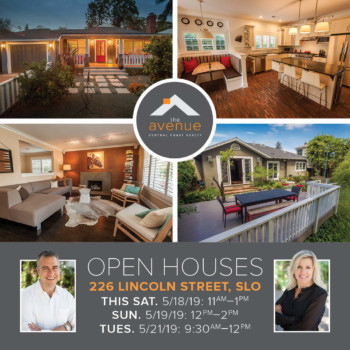 OPEN HOUSE - 226 Lincoln St, SLO