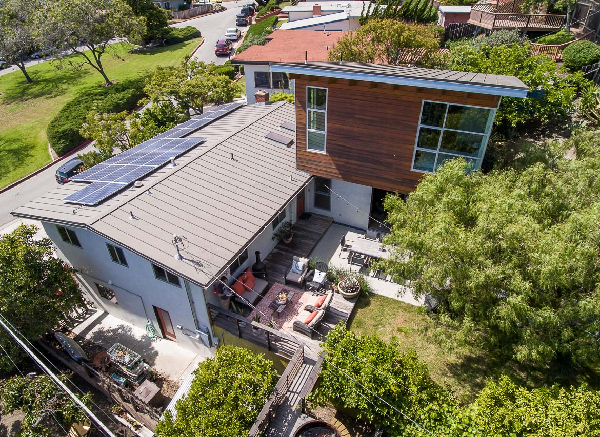 Open House-Modern, Industrial, Bohemian AIA Award Home in SLO