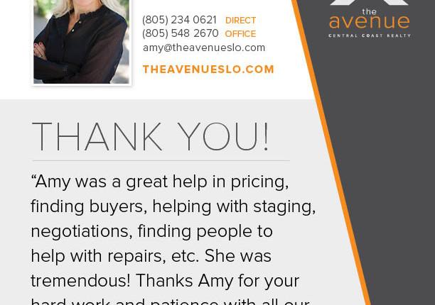 Latest Testimonial For Amy Daane