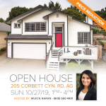 205 Corbett Cyn Rd OPEN HOUSE