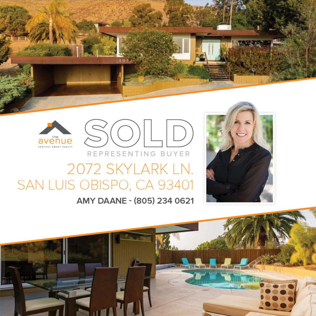 Amy Daane - 2072 Skylark Ln., San Luis Obispo, CA 93401