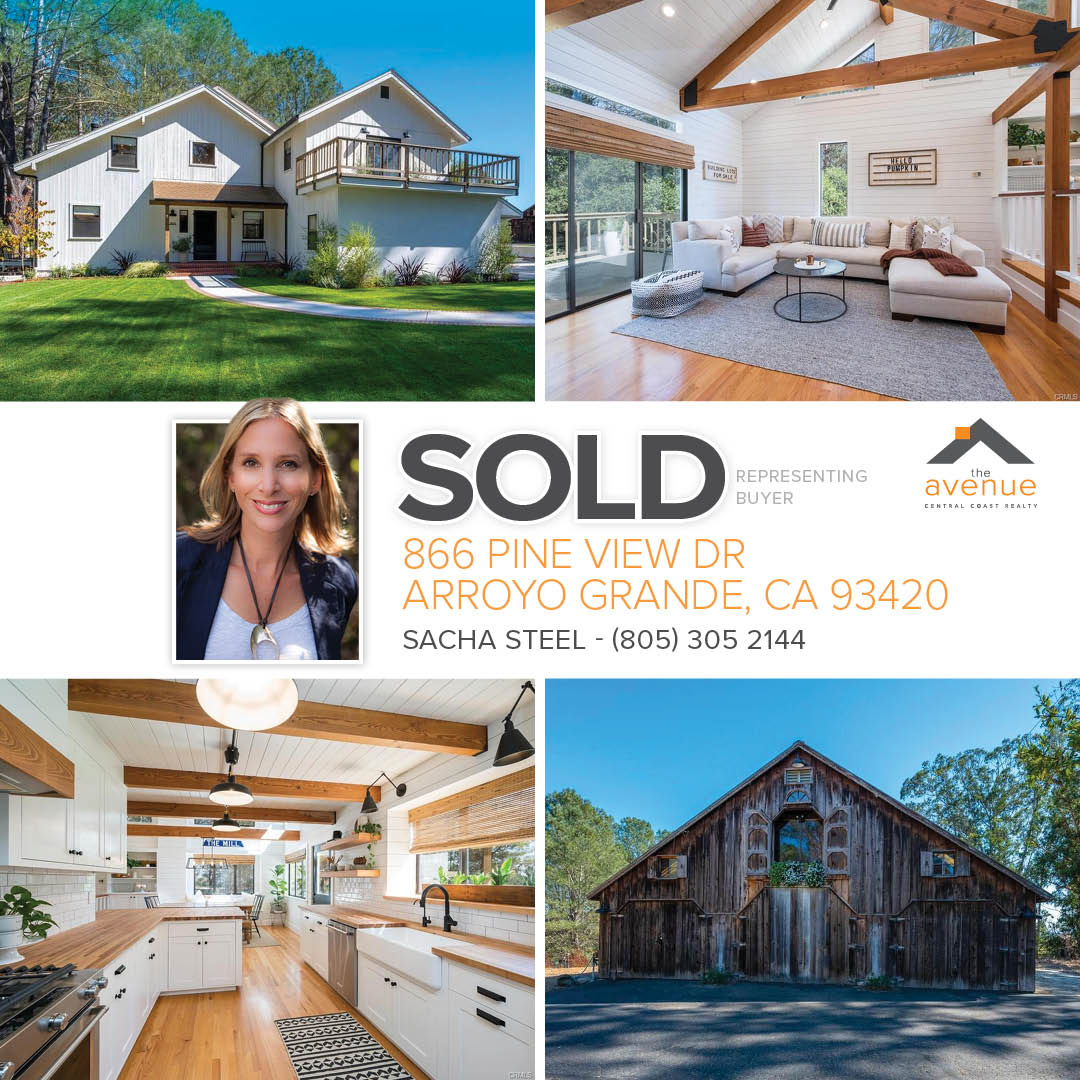 Escrow Closed for Sacha Steel