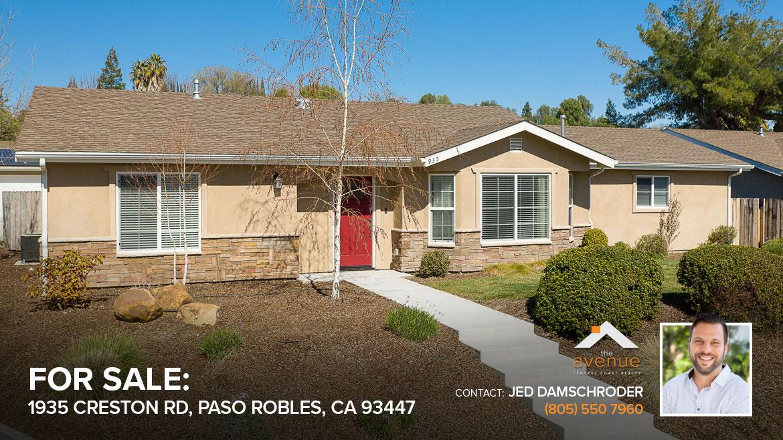 935 Creston Rd. Paso Robles