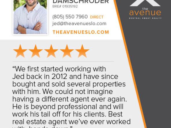 Testimonial for Jed Damschroder