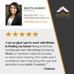 5-Star review for Mukta Naran
