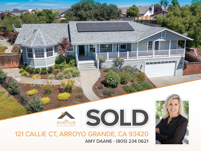 Amy Daane - SOLD, 121 Callie Ct, Arroyo Grande, CA 93420