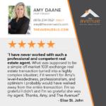 5 Star Testimonial for Amy Daane