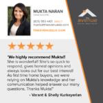 Mukta Naran Testimonial