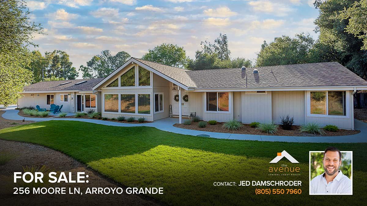 NEW LISTING - 256 Moore Ln, Arroyo Grande, CA 93420