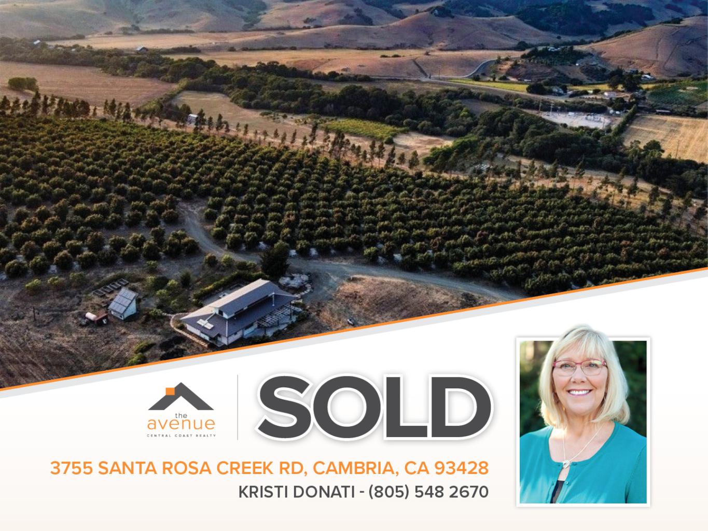 3755 Santa Rosa Creek Rd, Cambria, CA 93428 - Kristi Donati