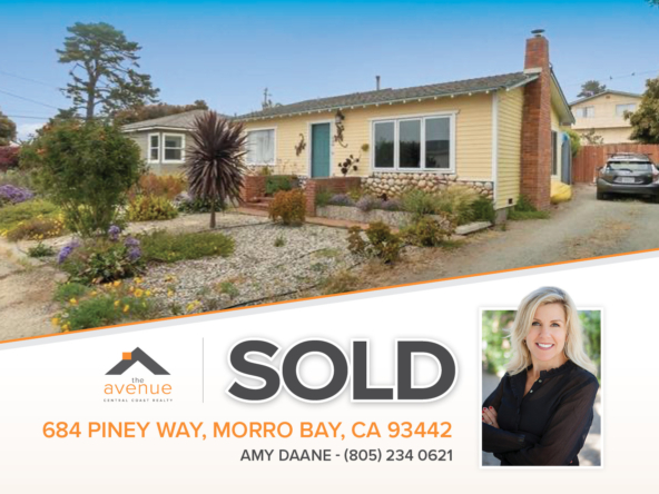 684 Piney Way, Morro Bay, CA 93442-SOLD Amy Daane